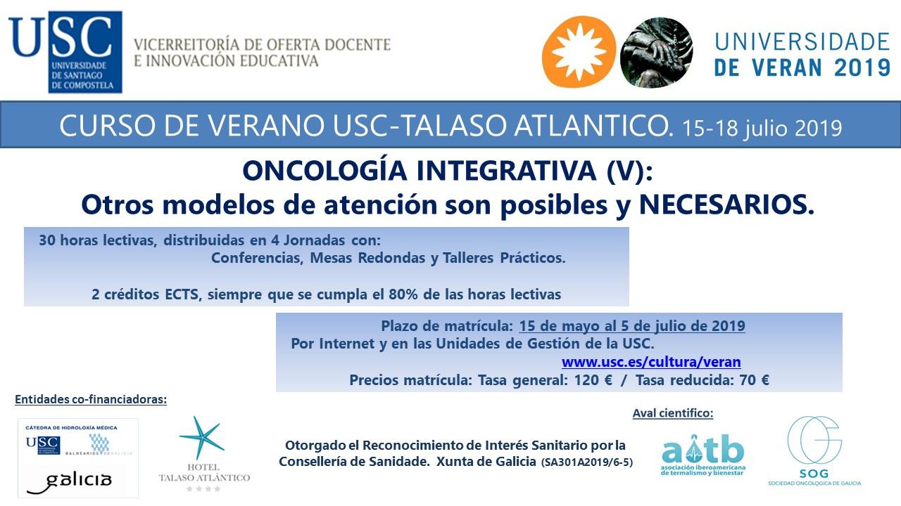 cursos de verano oncologia
