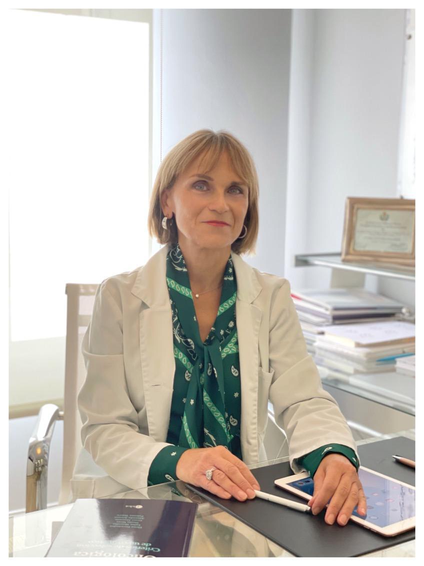 Doctora Elena Fernández - Clinica Ortega y Gasset Madrid